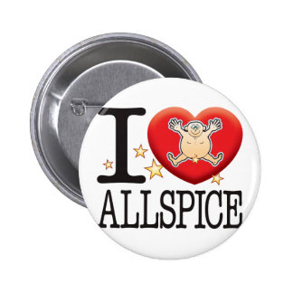 Allspice Love Man Pinback Button