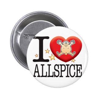 Allspice Love Man Pinback Button