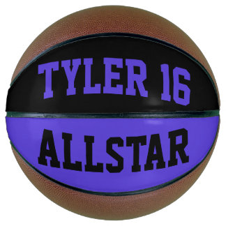 Allstar Black and Violet Basketball