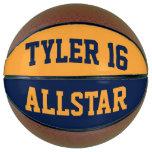 Allstar Blue Gold Basketball