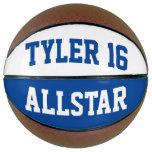 Allstar Blue White Basketball