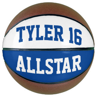 Allstar Blue White Basketball