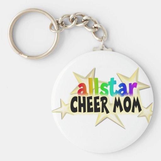 Allstar Cheer MOM Keychain