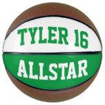 Allstar Green White Basketball