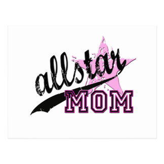 Allstar Mom Postcard
