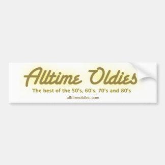 Alltime Oldies Bumper Sticker