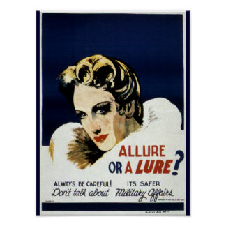 Allure or a Lure? Poster