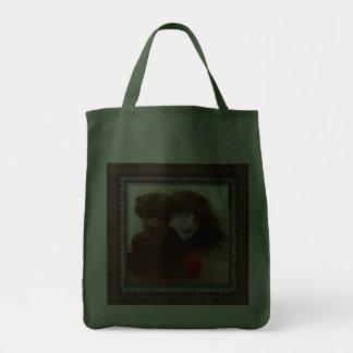Alluring Big Smile Canvas Bags