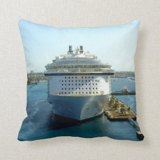 Alluring Bow at Rest Throw Pillow