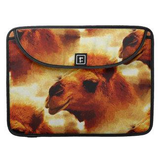 Alluring Camel Face MacBook Pro Sleeve