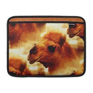 Alluring Camel Face MacBook Sleeve