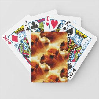 Alluring Camel Face Bicycle Playing Cards