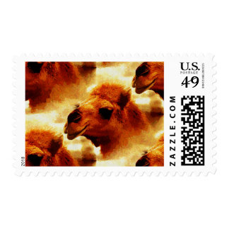 Alluring Camel Face Postage