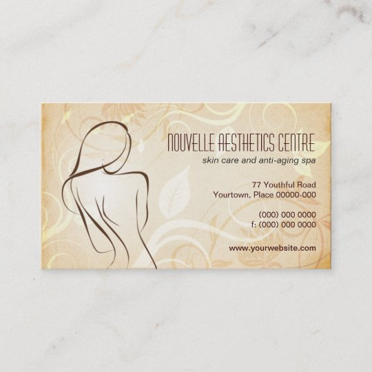 Alluring curves spa appointment business card zazzle alluring curves spa appointment business card reheart Image collections