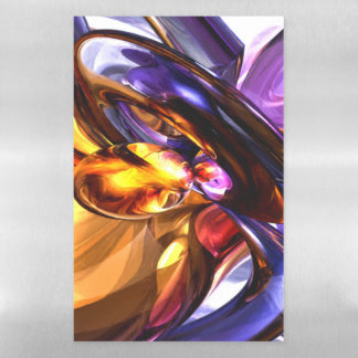 Alluring Grace Pastel Abstract Magnetic Dry Erase Sheet