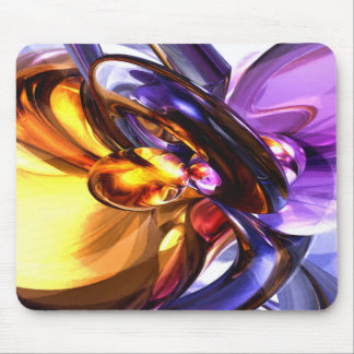 Alluring Grace Pastel Abstract Mouse Pad