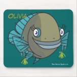 Alluring Olivia Mouse Pad