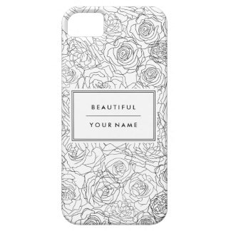 Alluringly floral - Customize iPhone SE/5/5s Case
