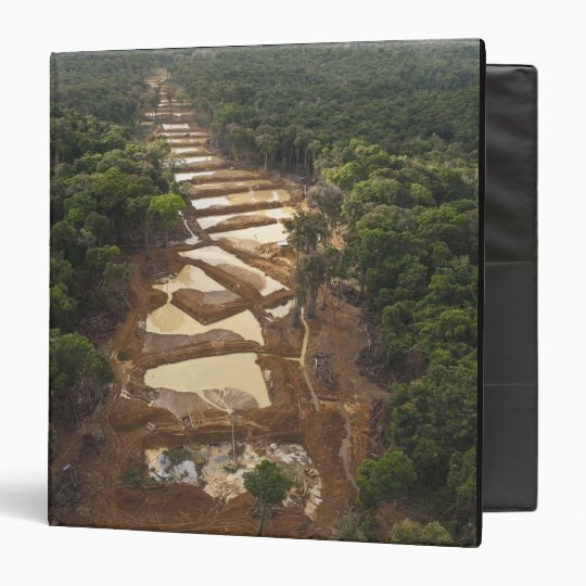 Alluvial Gold Mining. Rainforest, Guyana. Binder
