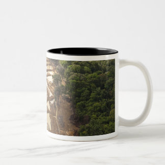 Alluvial Gold Mining. Rainforest, Guyana. Two-Tone Coffee Mug