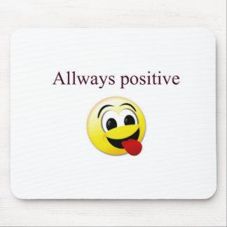 Allways positive mouse pad