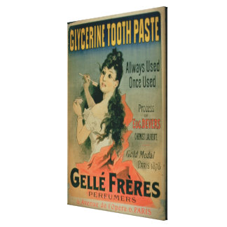 'Allways Used, Once Used', poster advertising 'Gly Canvas Print