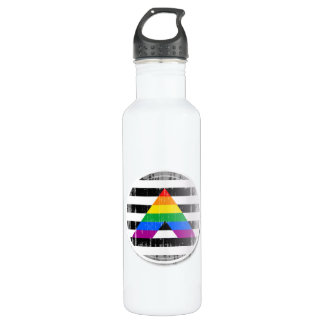 Ally Button distressed 24oz Water Bottle