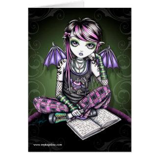 Ally Emo Fairy Card