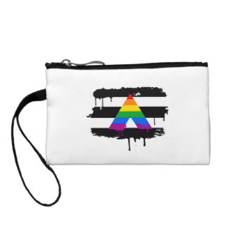 ALLY FLAG DRIPPING CHANGE PURSES