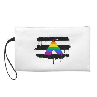 ALLY FLAG DRIPPING WRISTLET PURSES