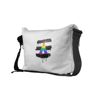 ALLY FLAG DRIPPING COURIER BAGS