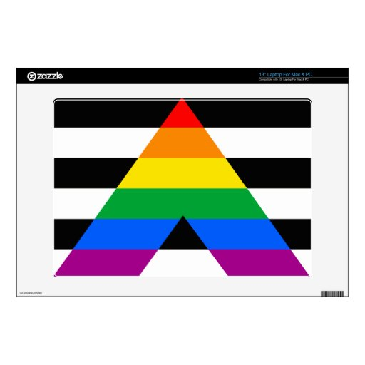ALLY FLAG ORIGINAL DECALS FOR LAPTOPS