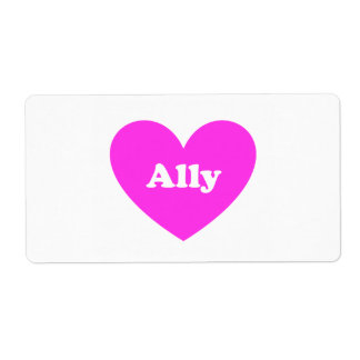 Ally Label