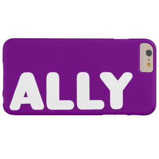 Ally LGBT Spirit Day Customizable iPhone 6s Plus Barely There iPhone 6 Plus Case