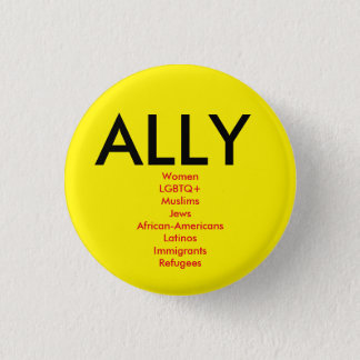 Ally Pinback Button