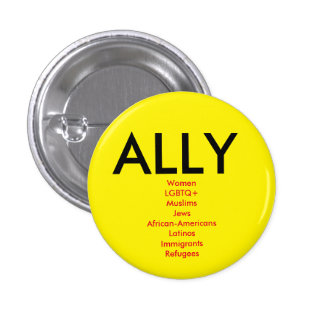 Ally Pinback Button