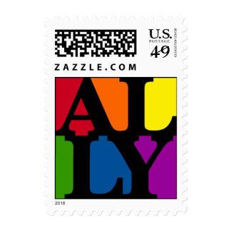 Ally Pop Black Postage