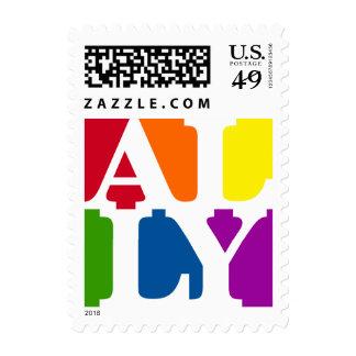 Ally Pop White Postage