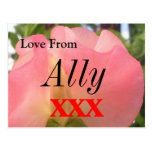 Ally Post Card