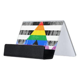 Ally Pride Desk Business Card Holder