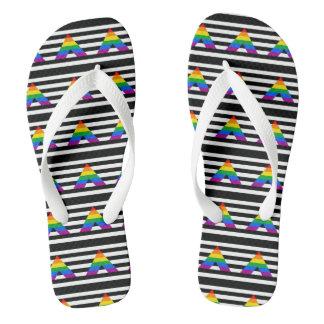 Ally Pride Flip Flops