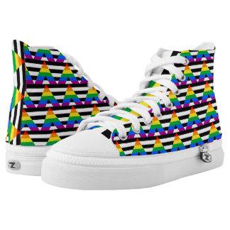 Ally Pride High-Top Sneakers