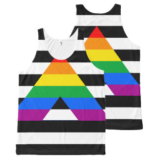 Ally Pride All-Over Print Tank Top