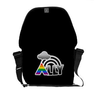 ALLY RAINBOW -.png Messenger Bag