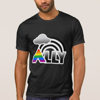 ALLY RAINBOW -.png T-Shirt