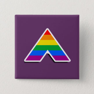 ALLY SYMBOL 3D PINBACK BUTTON