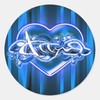 Allyn Classic Round Sticker