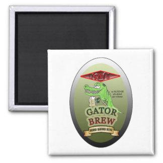 Ally's Gator Brew Magnet