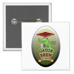 Ally's Gator Brew Pins