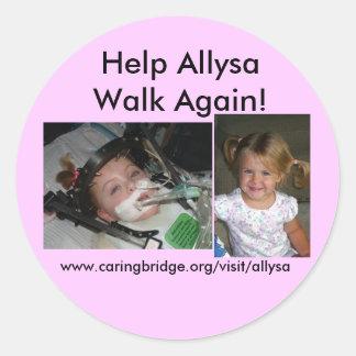 allysas sticker